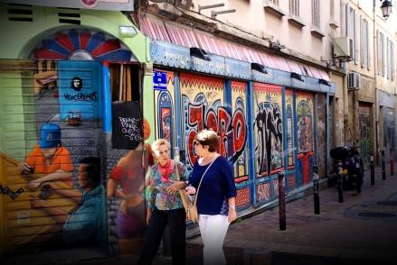 Marseille - quartier de la Plaine