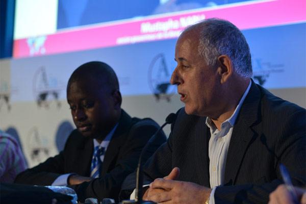 """Mustapha Nabli, intervenant lors de la session intitulée """"Les Temps du développement"""" (c) Cercles des Economistes"""