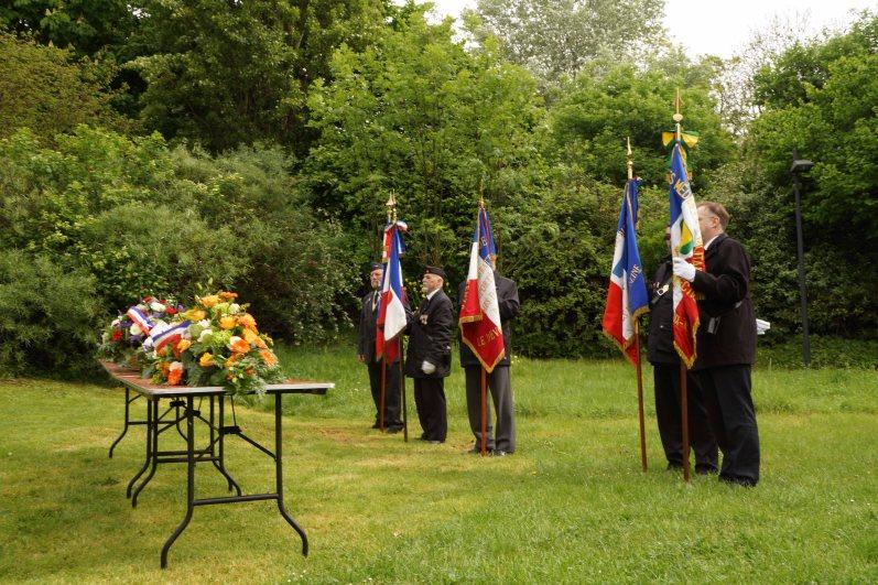 Journée nationale du souvenir de la déportation devant le monument dédié aux victimes de la barbarie nazie - © Mélina Huet