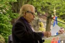Discours de commémoration du vice-président de la Communauté juive de Fontenay-aux-Roses - © Mélina Huet