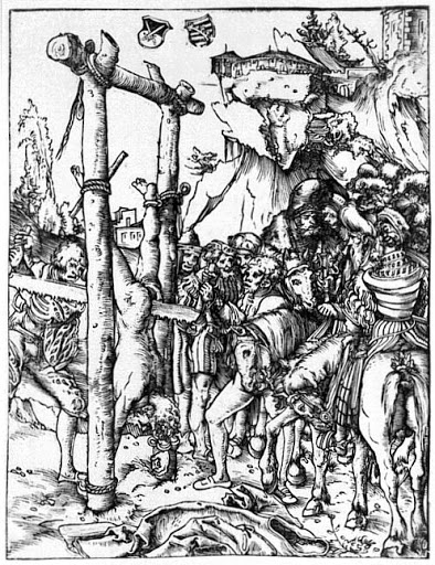 The Martyrdom of Simon the Zealot Lucas Cranach, (between 1539 and 1548)