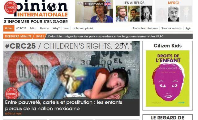 Article Opinion Internationale
