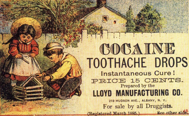 Cocaine for kids. KiloByte / wikipedia commons
