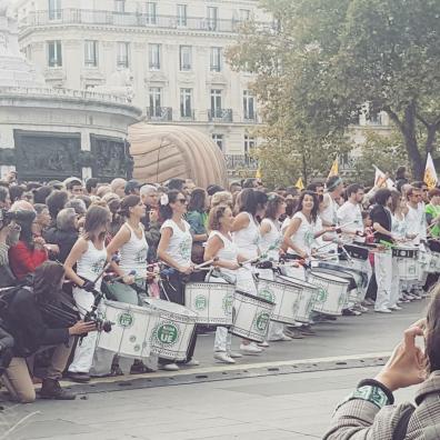 Arrivée du Tour Alternatiba à Paris © Mélina Huet