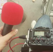 Radio Campus couvre l'arrivée du Tour Alternatiba à Paris © Mélina Huet